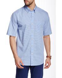 Cutter & Buck - Fairmount Check Short Sleeve Shirt - Lyst