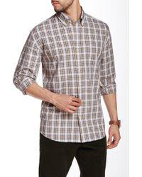 Cutter & Buck - Roy Plaid Long Sleeve Shirt - Lyst