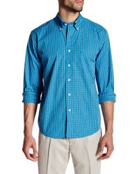 Cutter & Buck - Long Sleeve Anders Check Shirt - Lyst