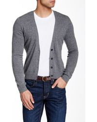BLK DNM - Elbow Patch Cashmere Cardigan - Lyst