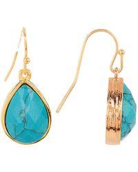 Melinda Maria - Shelly Turquoise Drop Earrings - Lyst