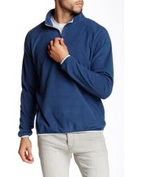 Peter Millar - Marseille Quarter Zip Fleece Pullover - Lyst