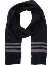 Joe Fresh - Stripe Knit Scarf - Lyst