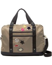 Madden Girl - Nylon Patch Weekend Bag - Lyst