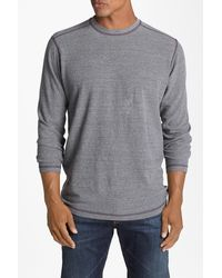 Agave - Thermal Crewneck Pullover - Lyst