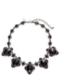 Tasha - Crystal Statement Necklace - Lyst