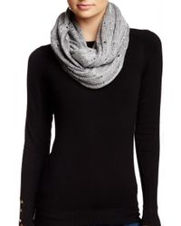 Michael Stars - Sequin Knit Infinity Scarf - Lyst
