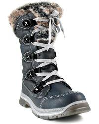 Santana Canada - Mugatti Faux Fur Trim Boot - Lyst