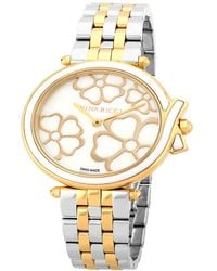Nina Ricci - Women's White Mother Of Pearl Watch - Lyst