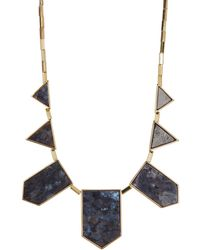 House of Harlow 1960 - Geometric Shape Frontal Statement Necklace - Lyst