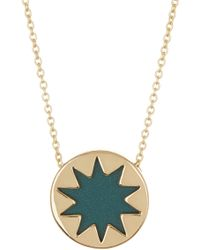 House of Harlow 1960 - Mini Sunburst Pendant Necklace - Lyst