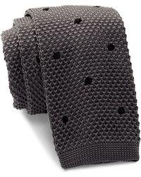 Burma Bibas - Dot Knit Tie - Lyst