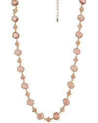 Carolee - Stone Necklace - Lyst