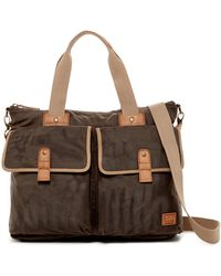 Marc New York - Fairfield Leather Trimmed Double Handle Carry All - Lyst