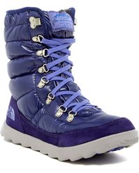 The North Face - Thermoball Lace Boot - Lyst