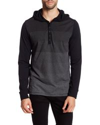 Howe - Wanted Striped Hooded Henley - Lyst