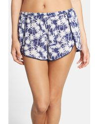 Make + Model - Print Tulip Hem Sleep Shorts - Lyst
