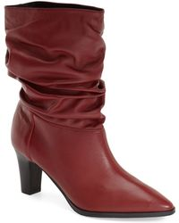 Adrianna Papell - 'noelle' Ruched Mid Boot - Lyst