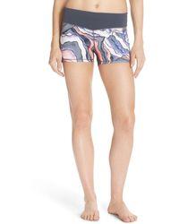 Zella - 'haute - Fair Game' Slim Fit Shorts - Lyst