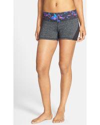 Zella - 'haute Fair Game' Slim Fit Shorts - Lyst
