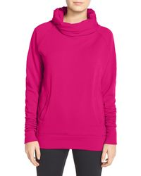 Zella - 'inner Peace' Cotton Blend Pullover - Lyst