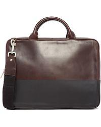 Jack Spade - Slim Leather Briefcase - Lyst