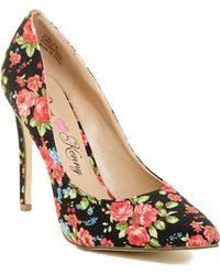 Penny Loves Kenny - Opus Floral Pointy Toe Pump - Lyst