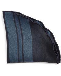 Alexander Olch - Stripe Linen Pocket Round - Lyst