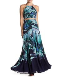 Phoebe - Floral Halter Dress - Lyst