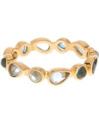 Melinda Maria - Isla London Blue Topaz Ring - Size 8 - Lyst