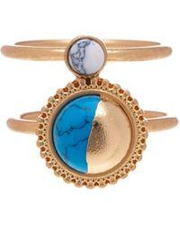 Danielle Nicole - Half Moon Ring - Size 7 - Lyst
