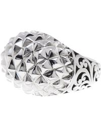 Lois Hill | Sterling Silver Handcrafted Scroll Ring - Size 8 | Lyst