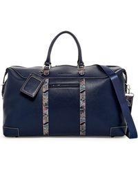 Robert Graham - Sixtino Leather Trim Weekend Bag - Lyst