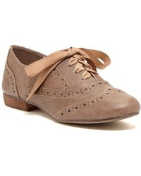 Restricted - Ringo Wingtip Oxford - Lyst