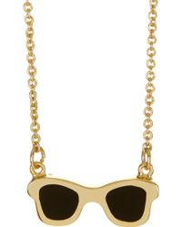 Ariella Collection - Wayfarer Necklace - Lyst
