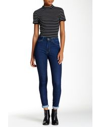 American Apparel - Stretch Pencil Jean - Lyst
