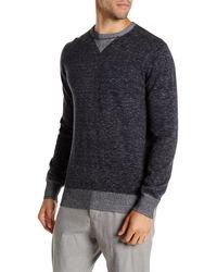 Agave - Ellis Long Sleeve Crew Fine Gauge Pullover - Lyst