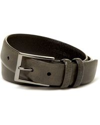 James Campbell - Vintage Leather Dress Belt - Lyst