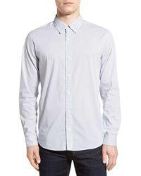 Baldwin Denim - 'otis' Slim Fit Solid Sport Shirt - Lyst
