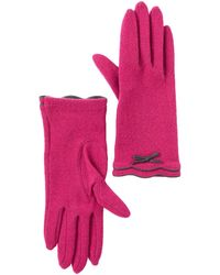 Vincent Pradier - Bow Ruffle Gloves - Lyst