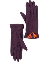 Vincent Pradier - Tassel Wool Gloves - Lyst