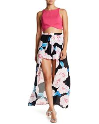 Peach Love California - Skirt Overlay Short - Lyst
