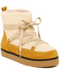 House of Harlow 1960 - Sadie Faux Shearling Boot - Lyst