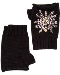 San Diego Hat Company - Fingerless Jeweled Gloves - Lyst