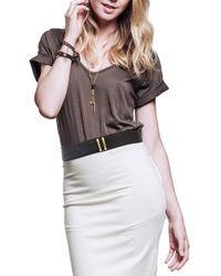 Ada - 'suki' Leather Belt - Lyst