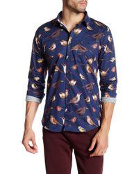 Weekend Offender - Sark Printed Long Sleeve Shirt - Lyst