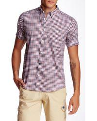 Weekend Offender - Roscoe Short Sleeve Shirt - Lyst