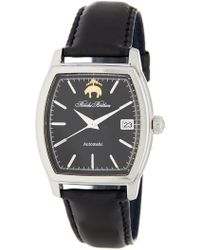 Brooks Brothers - Men's Black Fleece Collection Leather Strap Watch - Lyst