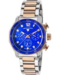 Swiss Legend - Women's Blue Geneve Multi-function Sport Bracelet Watch - Lyst