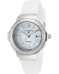 Swiss Legend - Women's South Beach Mother Of Pearl Diamond Watch - 0.096 Ctw - Lyst